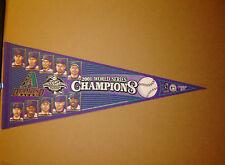 2001 Arizona Diamondbacks World Series Champions PHOTO MLB Baseball Pennant