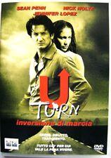 Dvd U-Turn - Inversione di Marcia di Oliver Stone con Sean Penn 1997 Usato