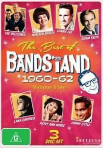 THE BEST OF BANDSTAND 1960-62 (VOLUME 5 - DVD + Free Post)