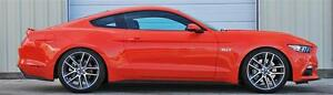 FORD MUSTANG FASTBACK ECOBOOST 2015>16 LOWERED SPRING KIT BY VOGTLAND GERMANY