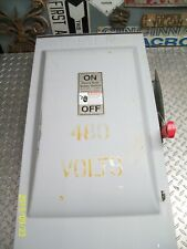 SIEMENS HF364R 200 AMP 200A FUSIBLE SAFETY DISCONNECT SWITCH 600VAC