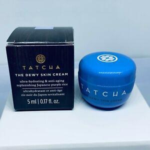 Tatcha The Dewy Skin Cream Ultra Hydrating & Anti-Aging Travel Size 5mL / 0.17oz