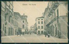 Vicenza Thiene cartolina QK7923