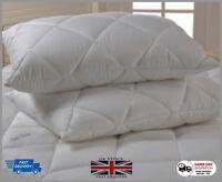 Luxury Ultra-Loft Super Jumbo Bounce Back Pillows - 2 Pack