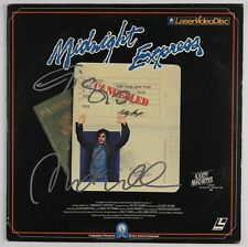 Giorgio Moroder Midnight Express JSA Signed Autograph Laser Disc Cover