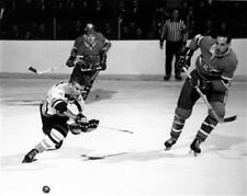 Bobby Orr Boston Bruins Montreal Canadiens Game Auction 8x10 Photo