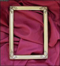 Antique Art Deco Ornamented Bronze Photo Frame
