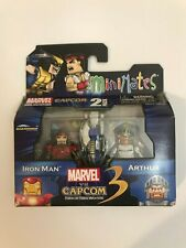 Minimates Marvel vs. Capcom 3 Iron Man and Arthur 2-Pack