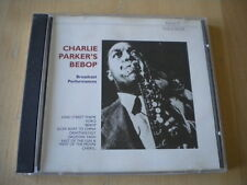 Charlie Parker's Bebop	Broadcast performances	CD	jazz Koko Ornithology Cheryl 2c