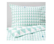 IKEA stillsamt Copripiumino Singola Luce Turquois 150x200/50x80 cm 1 Copricuscino E