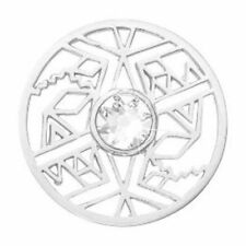 NEW Nikki Lissoni Medium Silver Coin Wild and Free C1585SM Free Shipping Option