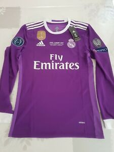 Maillot Final Real Madrid-Juventus League Champion Cardiff 2017 RONALDO 7 M/L/XL