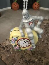 The Wizard Of Oz 1999 Turner Entertainment By Enesco Ceramic Tin Man Piggy Bank