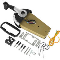 For Mercury Outboard Remote Control Kit 8M0059686 Binnacle 2 ft Power Trim