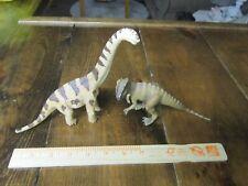 Schleich Junior dinsosaur models-Brachiosaurus and Allosaurus