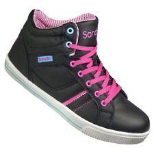 Sportschuhe Damen Schuhe Sneaker Skaterschuhe Lauf Schuhe S-L17 Schwarz Rosa