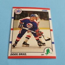 1990/91 Score Hockey Doug Smail Card #196***Winnipeg Jets***