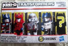 KRE-O Transformers Ultimate Kreon Collection Optimus Prime Megatron A4641 A4621