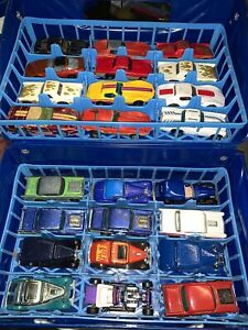 Vtg Lot Hot Wheels Cars - 1970's & 1980's 12 Corvettes 12 Hot Rods & Case!