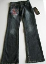 Ed Hardy Girls Love Kills Slowly Mini Jeans (12) NWT