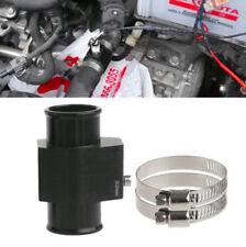 32mm Water Temp Joint Pipe Radiator Hose Temperature Gauge Sensor Adapter Black