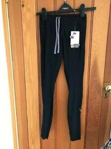 new balance lightening dry mid rise running leggings xs bnwt reflective