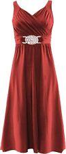 Polyester Midi Dresses for Women
