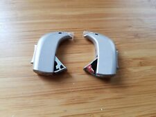 2 Gray / silver Oticon Spirit Zest Hearing Aid Behind The Ear BTE Open Corda
