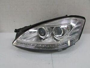 2010-2013 MERCEDES S CLASS S350 OEM LEFT XENON HEADLIGHT W/O NIGHT VISION E1