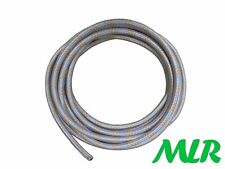 TR5 TR6 GT6 TR7 STAG SPITFIRE 8MM GALVANISED STEEL BRAIDED FUEL HOSE PIPE MLR.IW