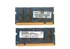 Elpida 4GB (2 x 2GB) PS2-6400S DDR2 Memory RAM Kit For HP Compaq 6510b, 6710b