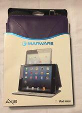 Marware Axis iPad Mini SleepWake Leather Case - Purple  New