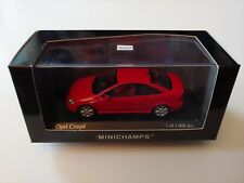 Opel Vauxhall Astra Coupe Red 2000 Minichamps Diecast 1:43 Rare '00s Vtg VIntage