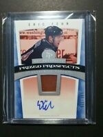 2006-07 HOT PROSPECTS HOT MATERIALS ERIC FEHR ROOKIE AUTO PATCH 512/599 RC