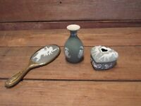 Vintage LOT Wedgwood Hand Mirror & Others