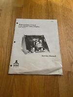 "Wells-Gardner 19"" In Color Raster Video Display Service Manual, Atari"