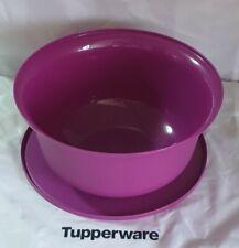 TUPPERWARE 2.WAHL Rührschüssel PENG 3,0 L violet Hefeteig B11 Schüssel Germteig