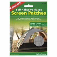 """Coghlan's Screen Patches Self-Adhesive Tent Screen Repair Kit 3-Patches 5""""x6.5"""""""