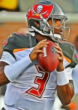 Jameis Winston Limited Edition Art Rookie Card 1 of 49  Tampa Bay Buccaneers