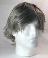 Short Wig Youth Silver Color Curlers Hair New unused Wigs