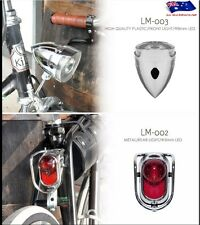 For Vintage Classic City Tour Bicycle Kiley Front&Rear LED Light LM-003&LM-002