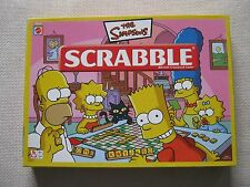 SCRABBLE THE SIMPSONS EDITION MATTEL BOARD GAME 10+YRS FAMILY GAME