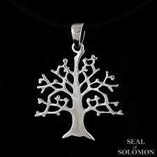 Fashion Tree of Life Necklace Pendant in Sterling Silver 925