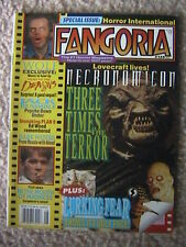 FANGORIA MAGAZINE # 135 NECRONOMICON JACK BENIMBLE WOLF JACK NICHOLSON PLAN 9