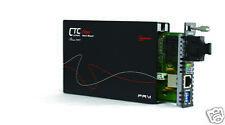 POTS(phone) RJ11 over multimode fiber converter/extender 2Km, FXO/FXS DIP sw adj