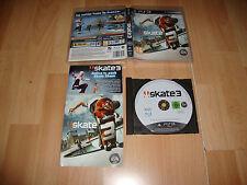 SKATE 3 DE EA SPORTS JUEGO DE SKATEBOARDING PARA LA SONY PS3 USADO COMPLETO