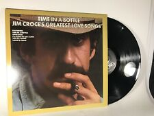Jim Croce - Time in a Bottle: Greatest Love Songs (1978) Vinyl LP • Best of Hits