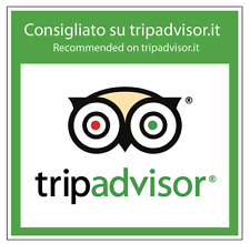 "Adesivo ""Tripadvisor"" per vetrine negozio 15x15 cm"