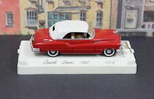 Solido 4512 1:43 O Scale 1950 Buick Super Convertible  Top Up MIB 80s Red NOS