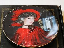Musetta collector plate 38-P63-1.1 1986 COA Box Riccardo Benvenuti Bradford #%